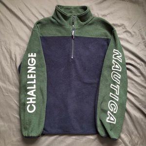 Vintage Nautica Challenge Fleece Jacket